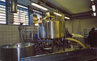 Ausrüstungen für Molkereien