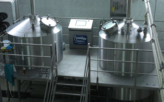 Equipment for the beer industry