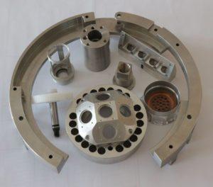 Teile und Komponenten für Maschinenbau